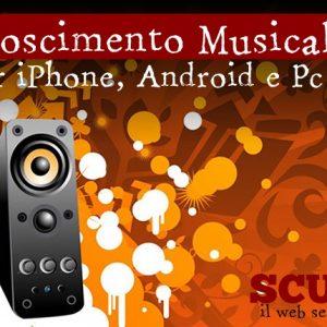 Riconoscimento musicale: le migliori app