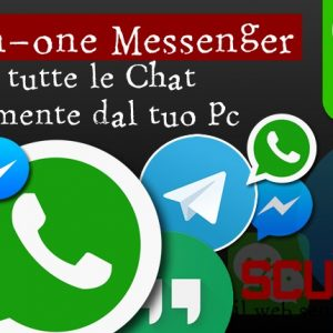 All-in-one Messenger, Gestire tutte le chat da Chrome
