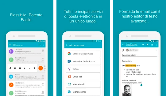 aqua mail per android