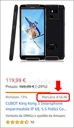 prodotti in offerta tempo limitato su amazon