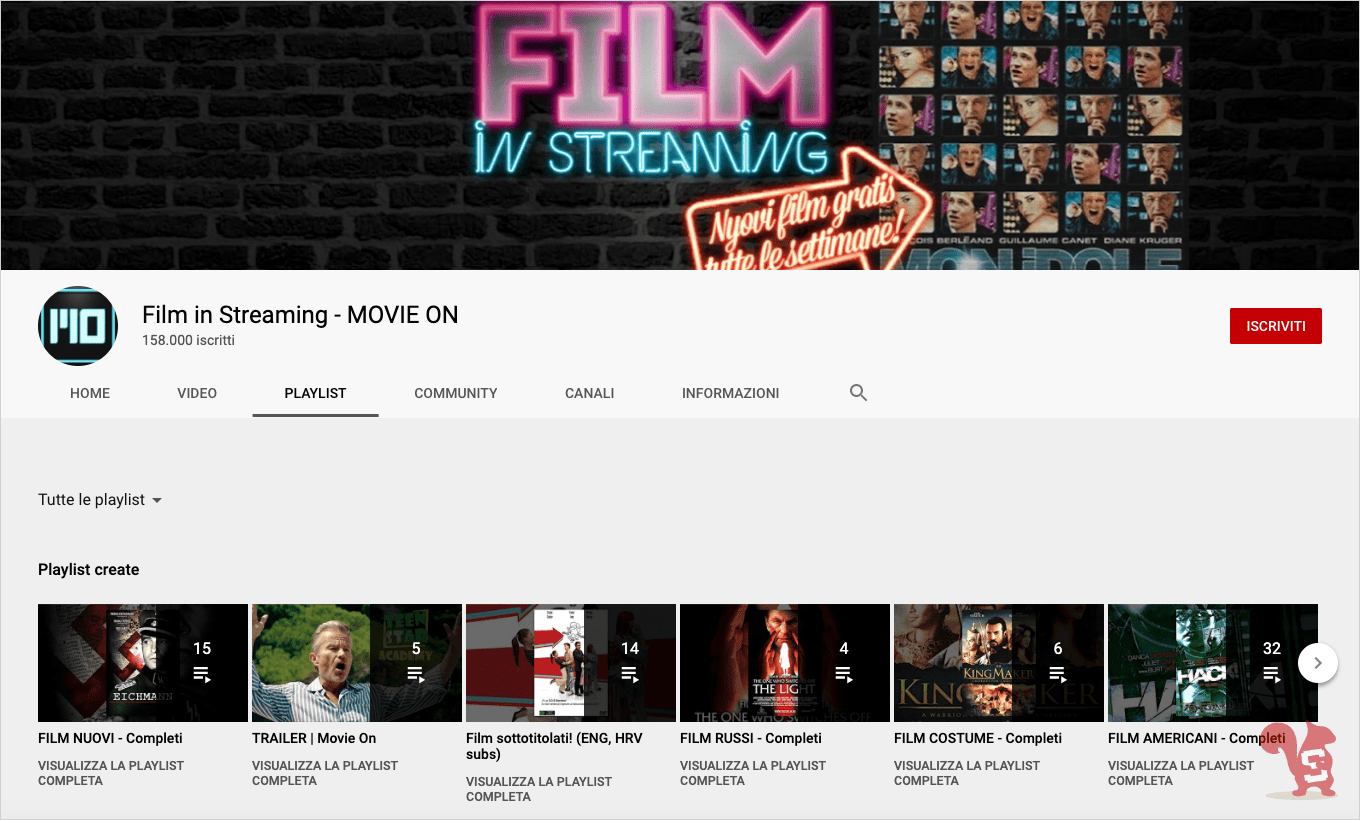 youtube film in streaming movie on