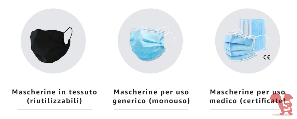 amazon negozio di mascherine