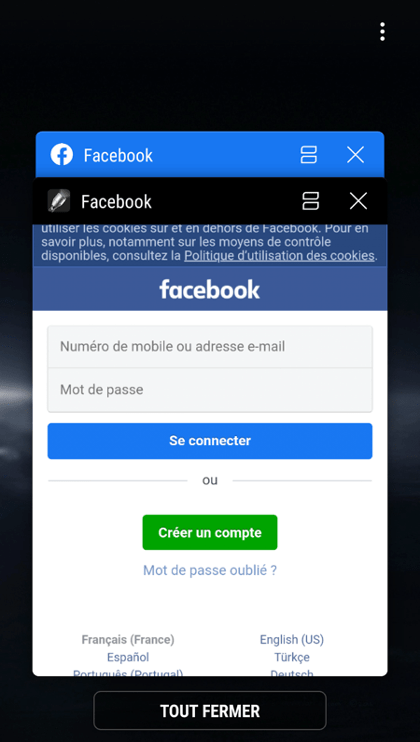evina 25 app android infette facebook