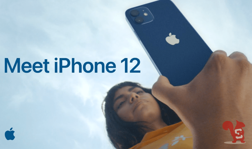 apple iphone 12 spot