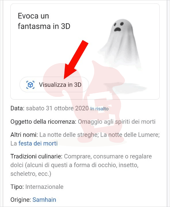google search halloween 3d
