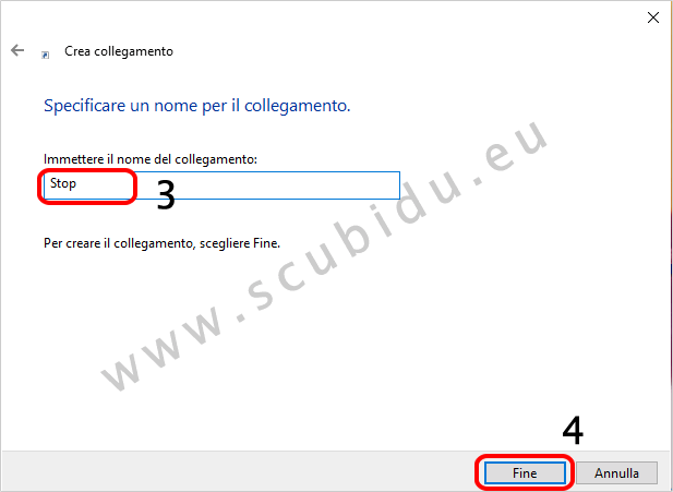 spegnere monitor immediatamente su windows 10