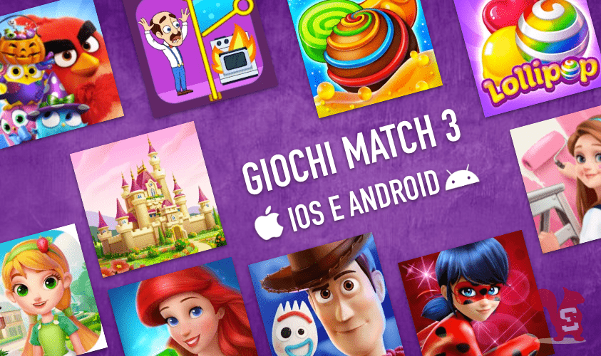 giochi match ios android