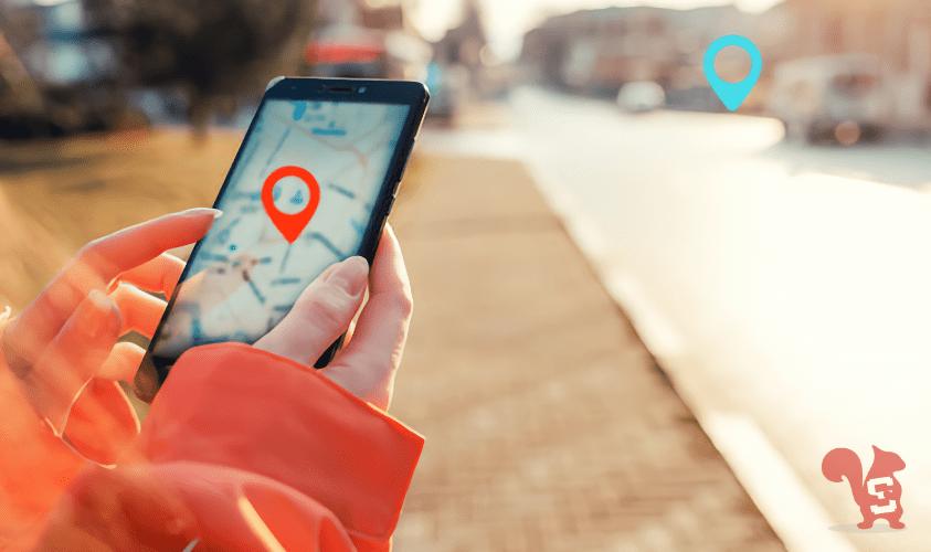 maps smartphone