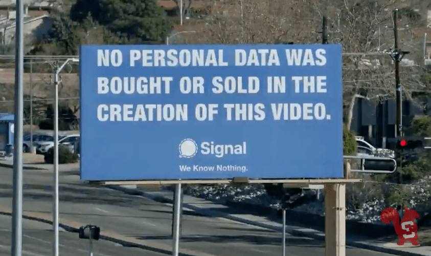 signal spot privacy we know nothing