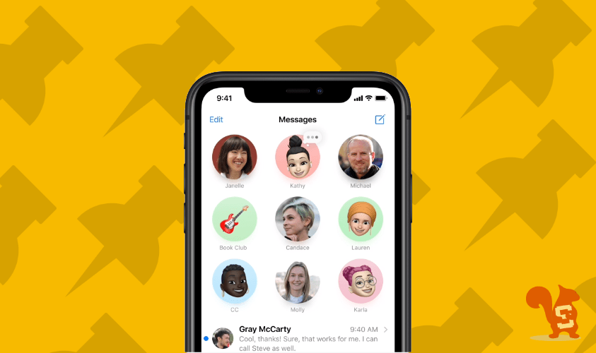 apple imessage fissare chat