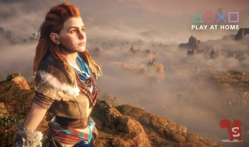 sony play at home horizon zero dawn complete edition