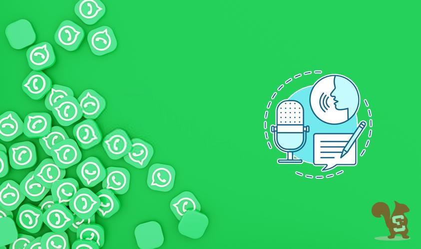 convertire messaggio vocale audio whatsapp in testo