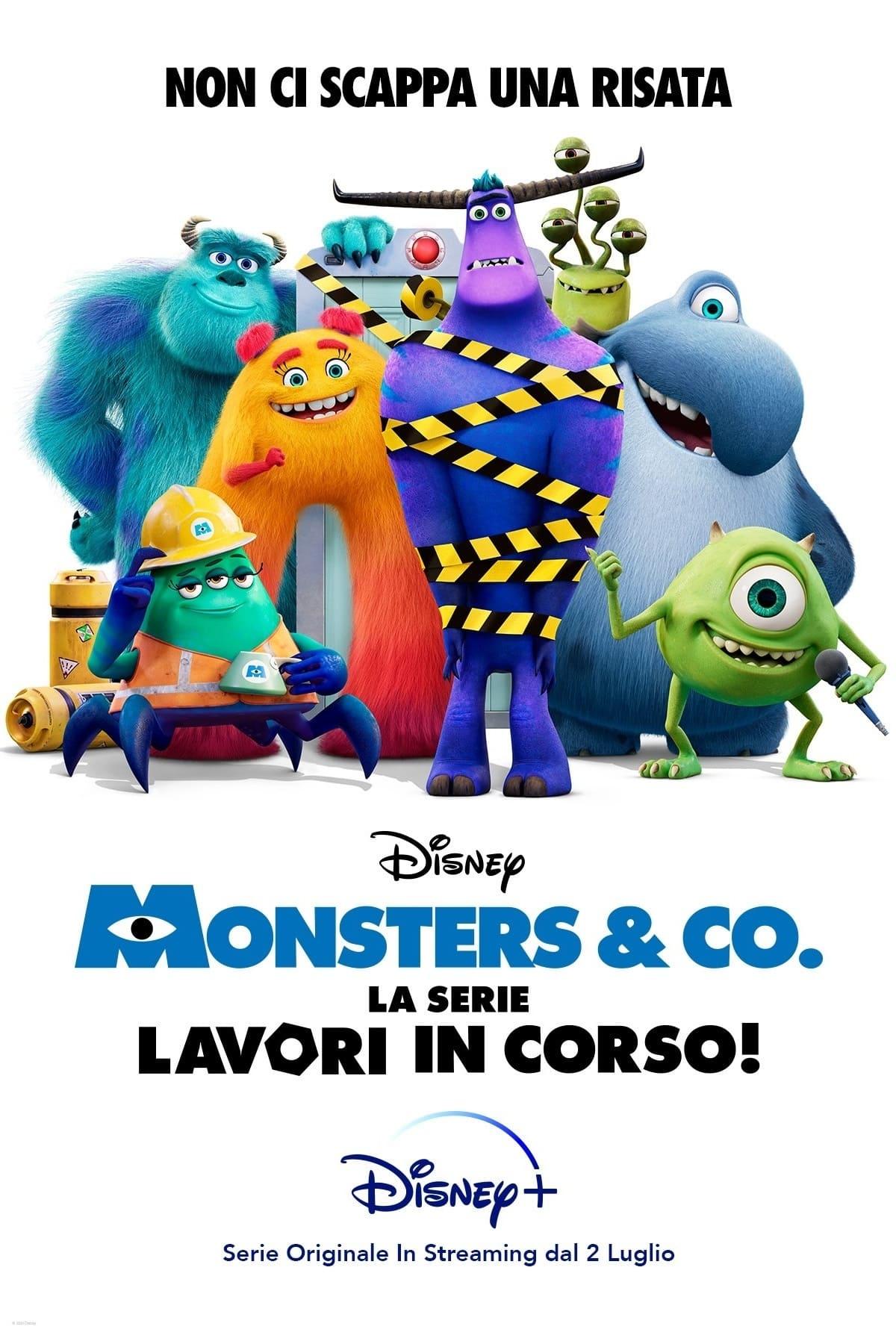 film disney monsters & co la serie lavori in corso