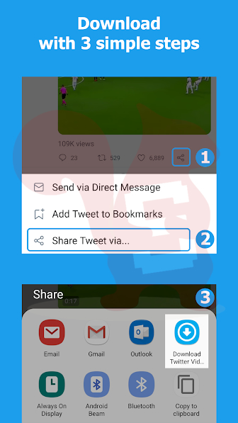 scaricare video da twitter app android